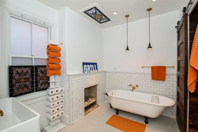1890 washington dc row house traditional bathroom dc for 1890 bathroom design