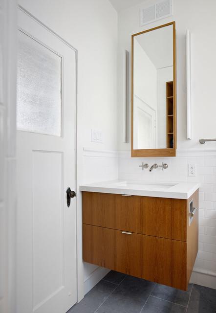 Small Bathroom Custom Vanity Bathroom San Francisco By Boor Bridges Architecture