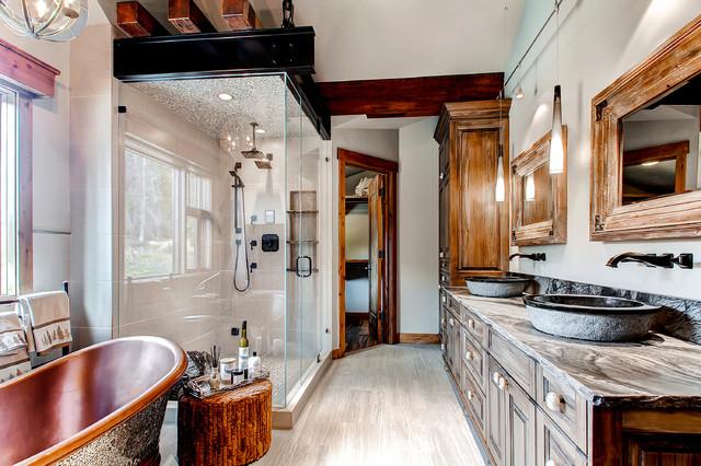 19 Peak Eight Circle - Bathroom rustic-bathroom