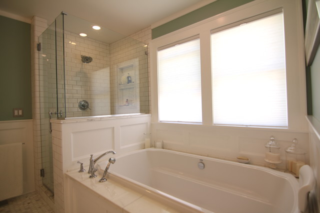 1919 Arts & Crafts Bath Remodel traditional-bathroom