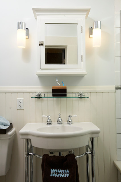1920s Art Deco Styled Bath traditional bathroom