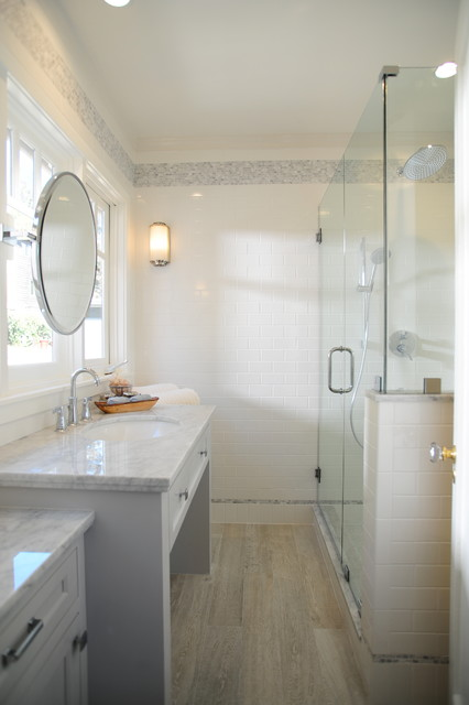 1920 S Bungalow Remodel Craftsman Bathroom Los Angeles By Kellybaron