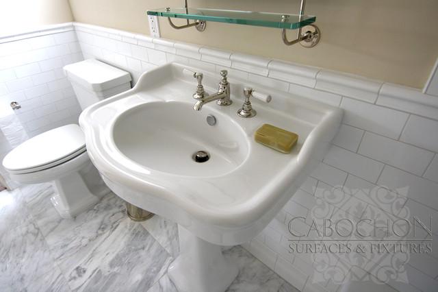 1920\'s Thomas Shepard Renovation, La Jolla - Traditional - Bathroom ...