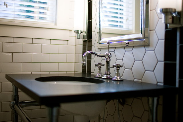 1921 Bungalow - Traditional - Bathroom - portland - by atomic * design