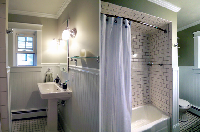 1922 Pennsylvania Four Square Traditional Bathroom Other Metro By Jillian Lare Interior