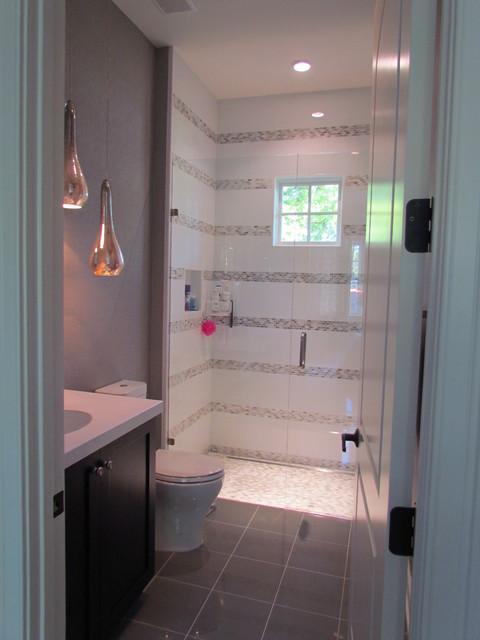 1928 Mediterranean Remodel And Addition Contemporary Bathroom Orlando By Walter Price