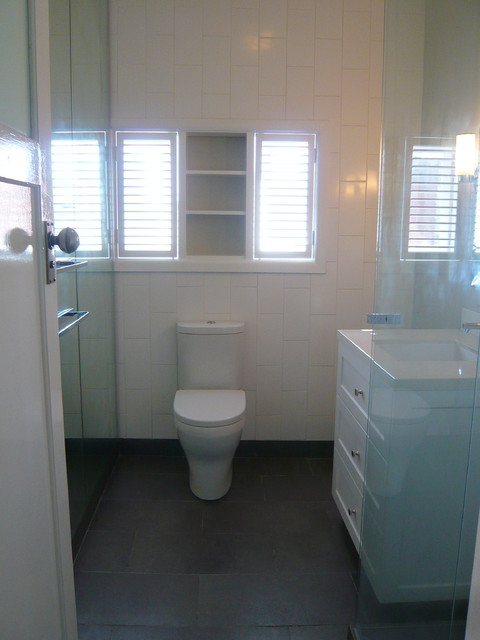 1930s Art Deco Apartment Modern Bathroom Other