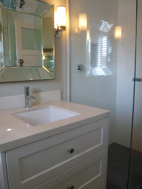 1930 S Art Deco Apartment Modern Bathroom Other