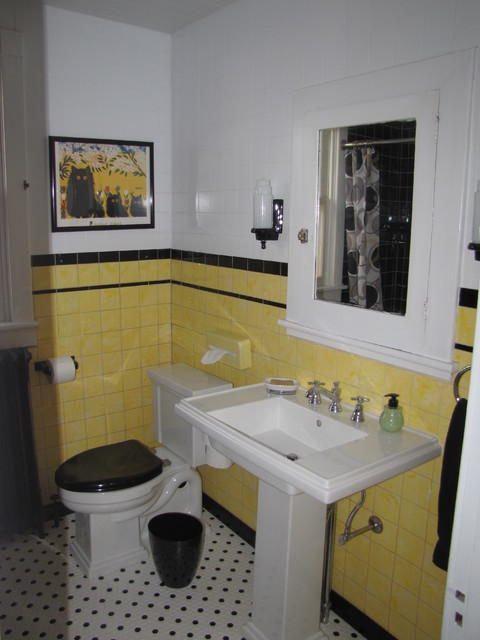 1930 39 s bathroom haas for Bathroom ideas 1930s semi