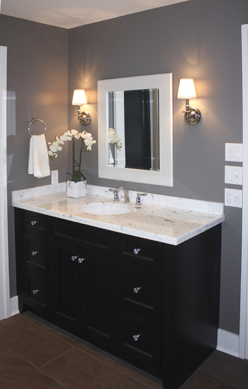 Bathroom Mirror Side Lights white framed mirrors bring classic look