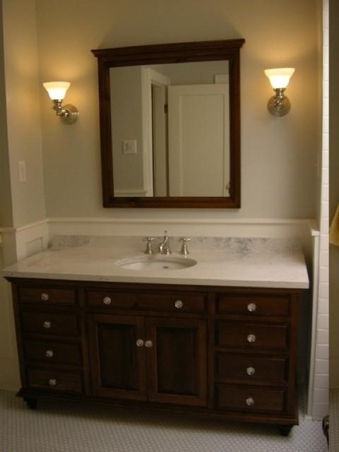 1930's Restoration/Major Renovation and Remodel traditional-bathroom
