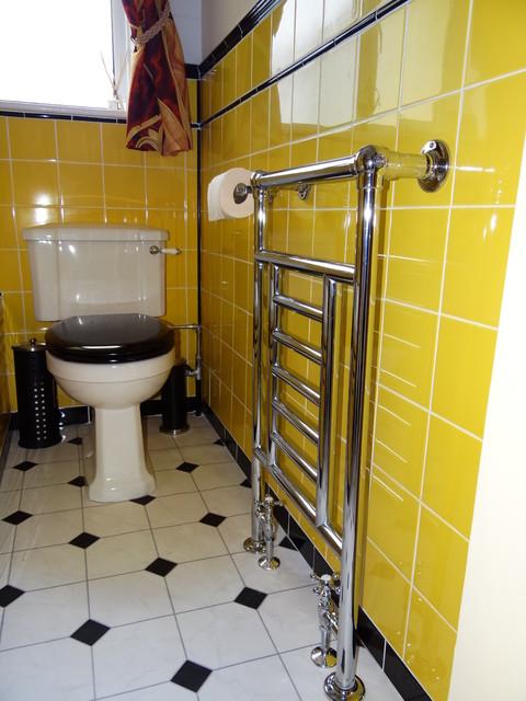 1930s Art Deco bathroom - Midcentury - Bathroom - Hampshire