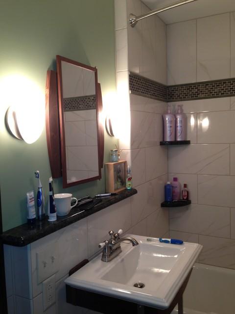 1940 39 S Bathroom Midcentury Bathroom Cleveland By