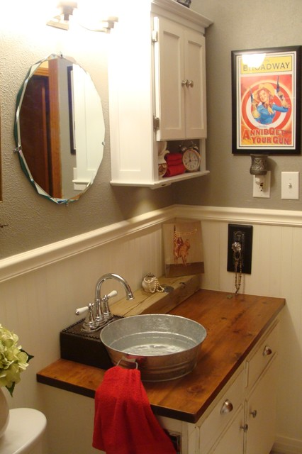 1930 S Bungalow Bathroom Farmhouse Western Style