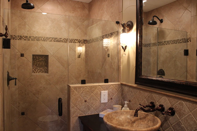 1950 39 S Dallas Residence Remodel Bathrooms Traditional Bathroom Dallas By Karyn Dismore