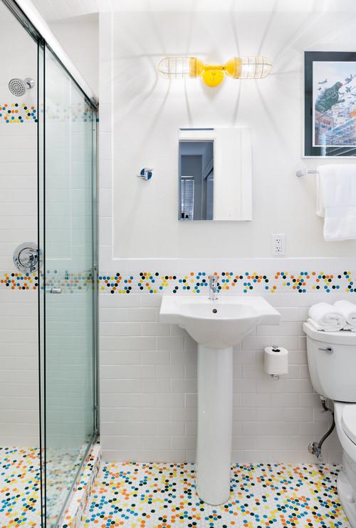 1950s Ranch House Bathroom