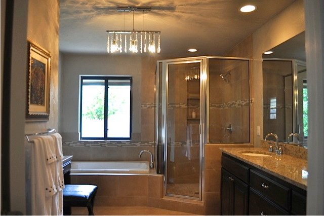 1960 39 s ranch style home remodel for Ranch bathroom design