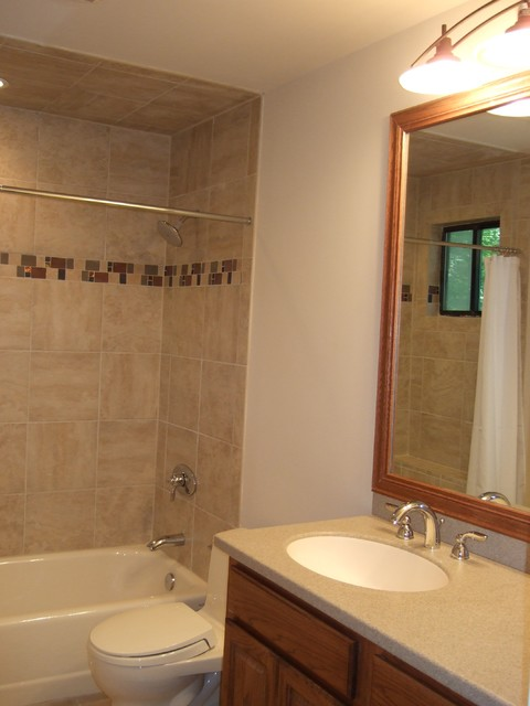 1970 39 s bathroom remodel modern bathroom raleigh by