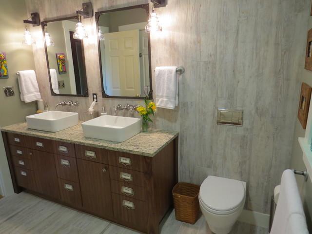 20 trenton 1st floor bath remodel eclectic bathroom for Bathroom remodel maine
