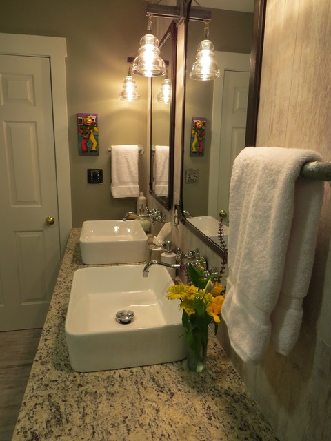 20 Trenton 1st Floor Bath Remodel Eclectic Bathroom Portland Maine By Robin Amorello
