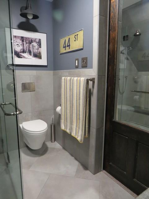 20 trenton master bath remodel industrial bathroom for Bathroom remodel maine