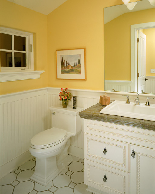 Superb Traditional Bathroom by Witt Construction