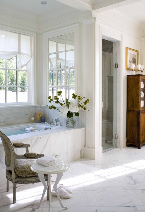 2009 Southern Accents Showhome traditional bathroom