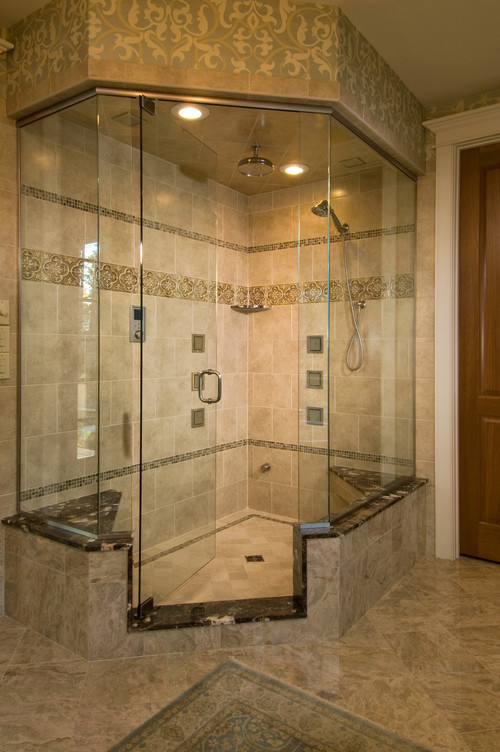 Small bathroom remodels with the 2 3 piece shower tub for Tiny 3 piece bathroom