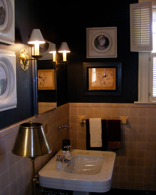 2012 Breast Cancer Show House traditional-bathroom