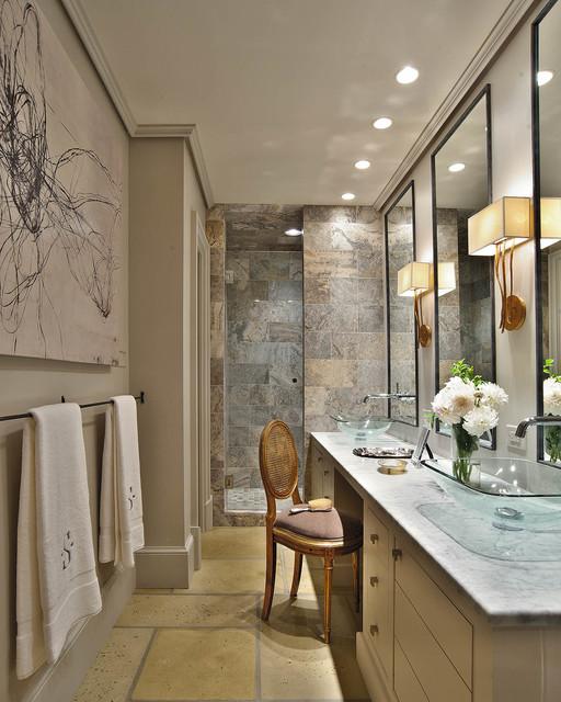 2012 national coty award winner residential bathroom for Narrow master bathroom