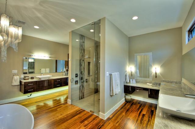 2012 Parade Home #7 contemporary-bathroom