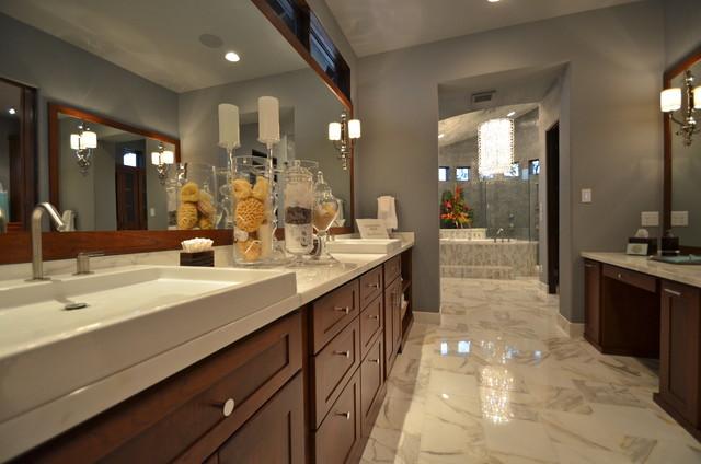 2012 Parade Of Homes--Dominion contemporary-bathroom