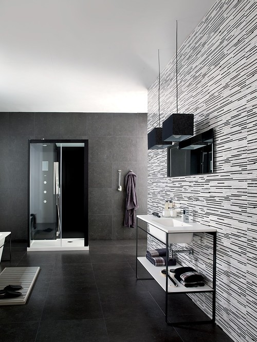 2012 TIle Trends Photography - Coverings Preview  bathroom