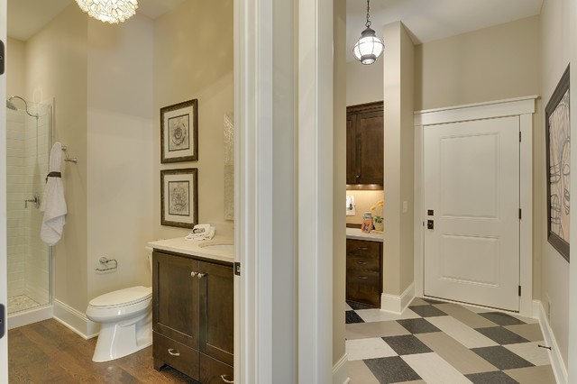 Example Of A Classic Bathroom Design In Minneapolis With An Undermount Sink