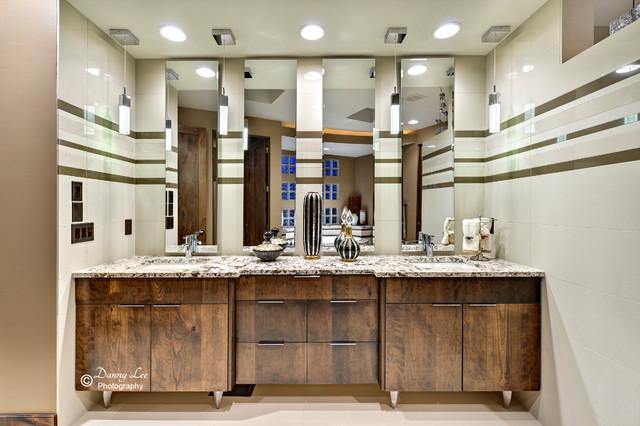 2013 richardson parade home contemporary bathroom for Richardson custom homes