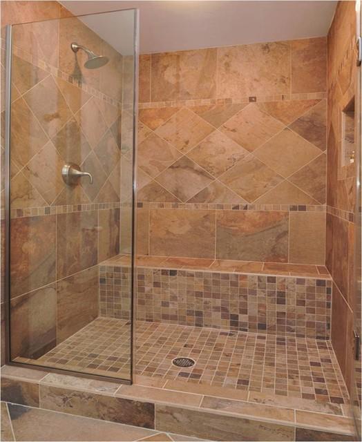 2014 Designer Installs - Rústico - Cuarto de baño ...