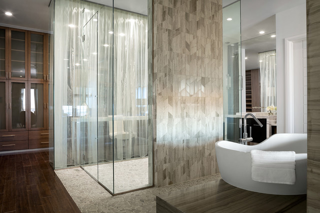 2014 New American Home Contemporary Bathroom Las Vegas By Marc Michae