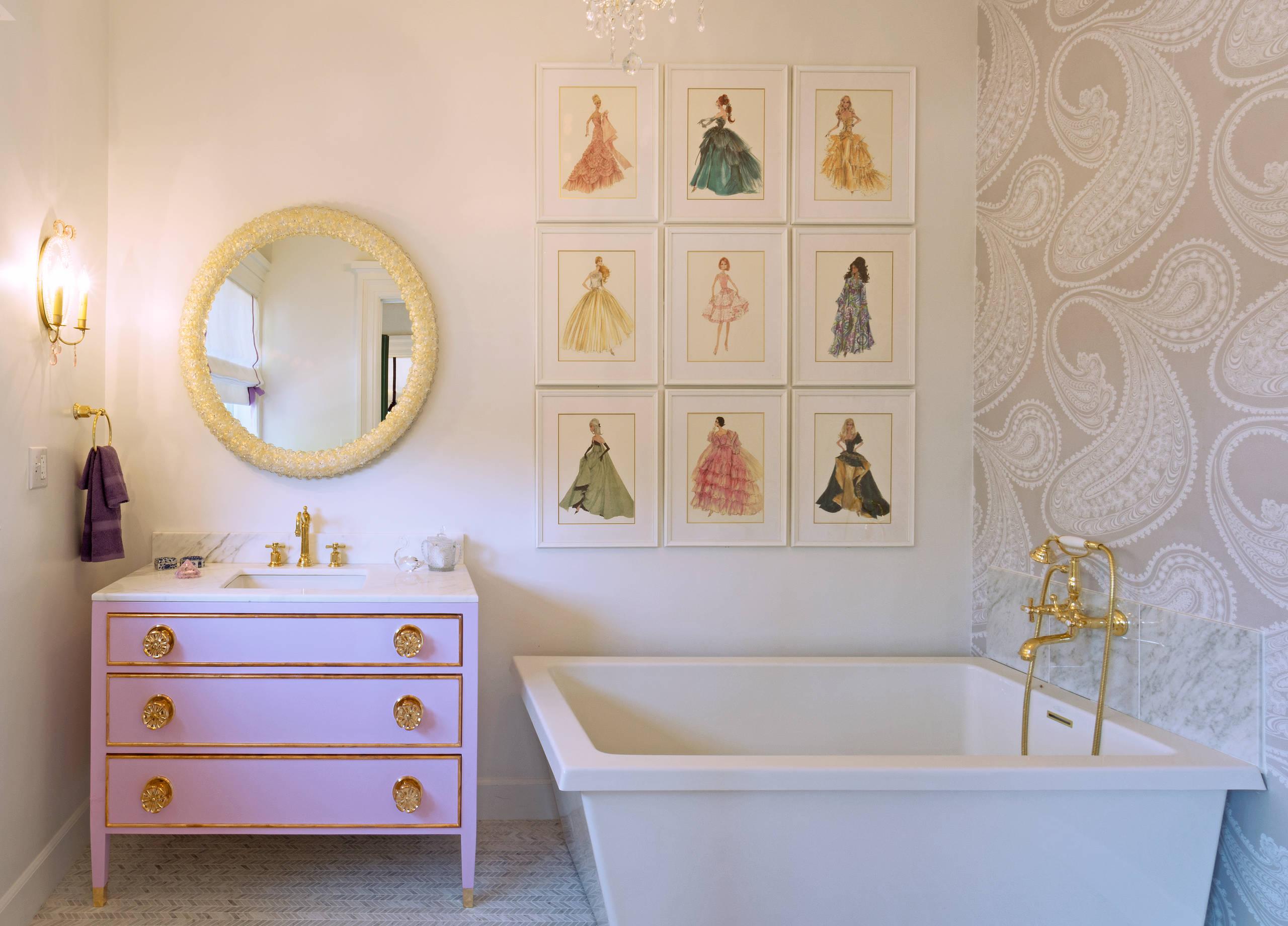 Girl S Bathroom Ideas Houzz