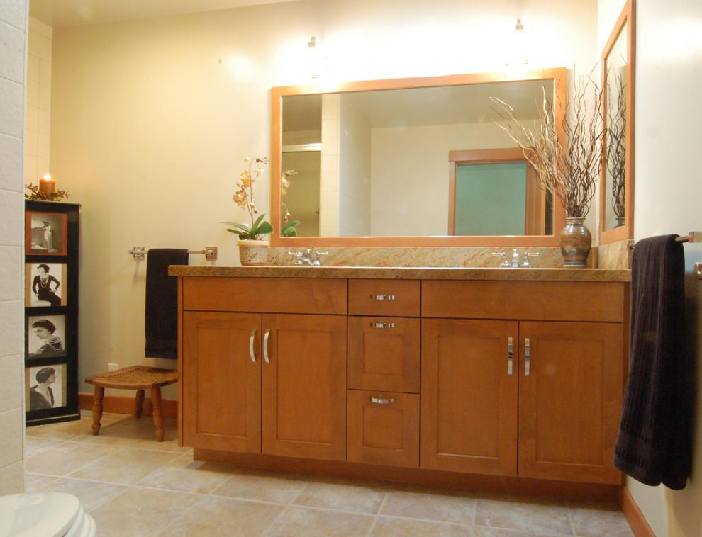 2015 Photos Master Vanity Brookhaven Midcentury Bathroom San Luis Obispo By San Luis Kitchen Co