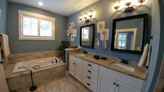 2016 new sales office master bath craftsman bathroom - Craftsman Bathroom 2016