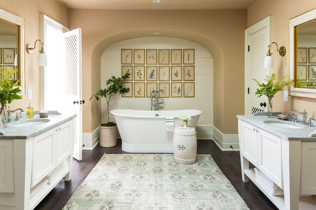2016 Southern Living Idea House Traditional Bathroom