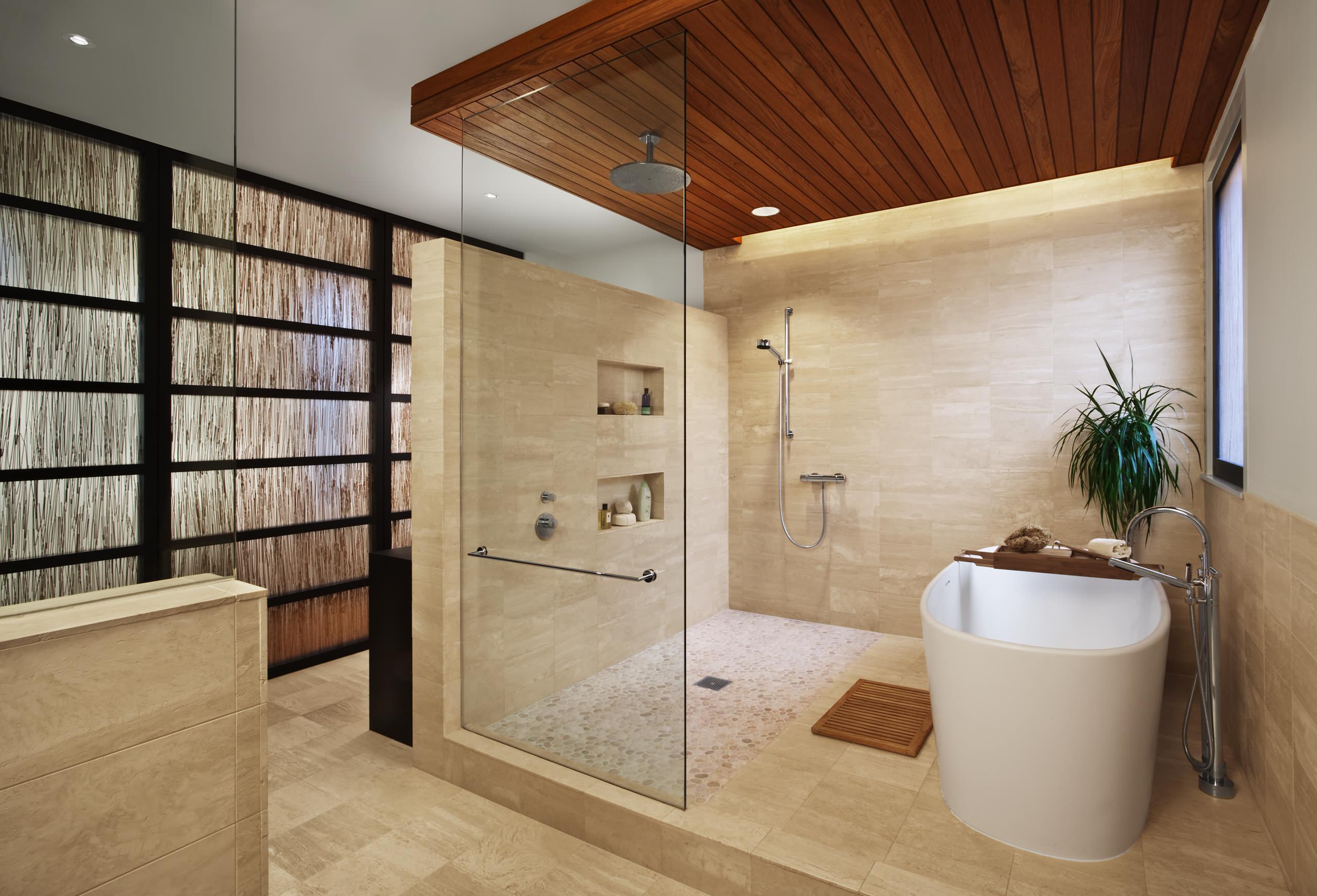 75 Beautiful Travertine Floor Bathroom Pictures Ideas June 2021 Houzz