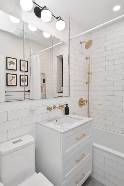 Stylish Bathrooms Under 75 Square Feet, Used Bathroom Fixtures