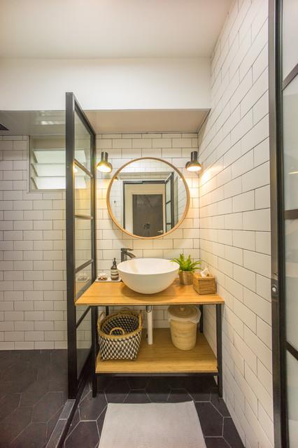 216B Compassvale Drive - 5 Room HDB contemporary-bathroom