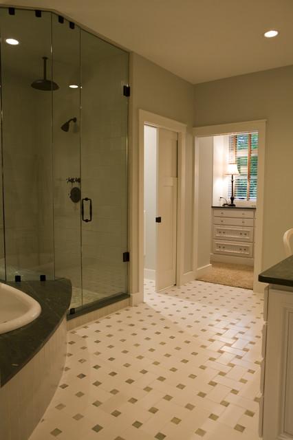 21st Century Bungalow contemporary-bathroom