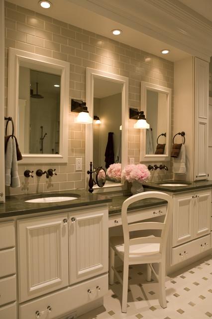 21st Century Bungalow traditional-bathroom