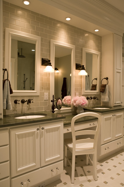 21st Century Bungalow traditional bathroom