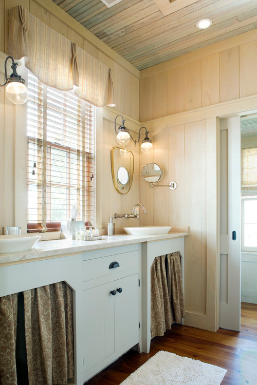 Farmhouse Bathroom By Peachtree City Architects Building Designers