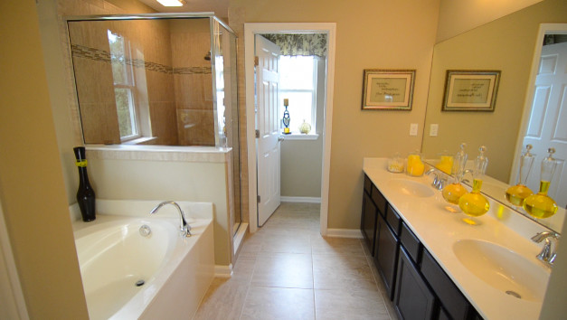 2287 Model Home at Nocatee traditional-bathroom