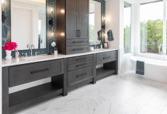 Top Vanity, Sink and Mirror Style Picks for Master Baths in 2020